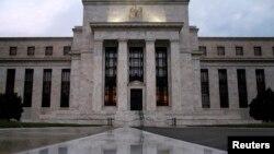 Kantor Bank Sentral Amerika di Washington DC (foto: dok).