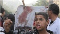 میدان تحریر در قاهره شاهد ۴ روز درگیری معترضان با نیروهای دولتی بود. ۲۸ آذر ۱۳۹۰
