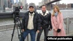 CBC Azərbaycan telekanalının müxbirləri ABŞ-da səfərdədir