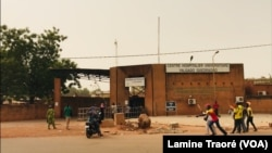 Le Centre hospitalier universitaire Yalgado Ouédraogo, Ouagadougou, le 27 avril 2020 (VOA/Lamine Traoré)