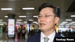 6자회담 한국 측 수석대표인 황준국 외교부 한반도평화교섭본부장 (자료사진)