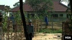 Inside view of Prey Sar prison in Cambodia, file photo.