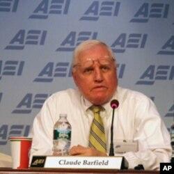 美國企業研究所研究員巴菲爾德