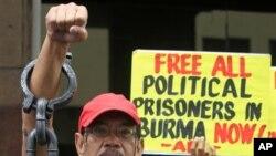 Các nhóm tranh đấu cho nhân quyền vẫn còn lo ngại cho hàng trăm tù nhân lương tâm khác còn đang bị giam giữ ở Miến Điện