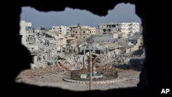 El Estado islámico se ha obsesionado con la ciudad siria de Kobani, en la frontera con Turquía.