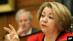 La representante demócrata por California Linda Sanchez está entre las congresistas que denuncian haber sido acosadas sexualmente en el Congreso de Estados Unidos.