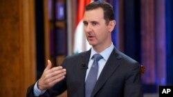 Президент Сирии Башар Асад (архивное фото)