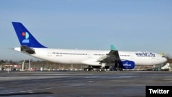 World2Fly, the long-haul airline of the W2M Group, begin its commercial flights to Cuba from Madrid. (Twitter/@14ymedio)