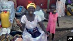 Wata mata 'yar kasuwa a Ghana