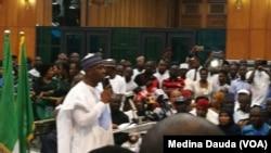 Le président du Sénat nigérian, Bukola Saraki.