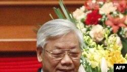 Tổng bí thư Nguyễn Phú Trọng của Đảng Cộng Sản Việt Nam.