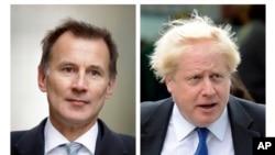 Фіналісти змагання за лідерство в Консервативній партії: Борис Джонсон та Джеремі Гант
