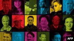 تاثیرگذار ترین افراد جهان در سال ۲۰۱۲: فهرست یک صد نفری مجله تایم