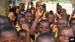 加納的學童