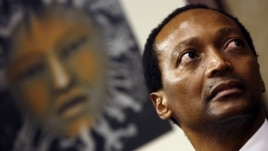 South African businessman and billionaire Patrice Motsepe pictured on May 07, 2008.