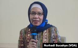 Peneliti Utama World Mosquito Programme (WMP) Yogyakarta, Prof. Adi Utarini, dalam tangkapen layar. (Foto: VOA/Nurhadi Sucahyo)