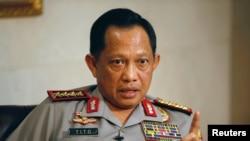 Kapolri Jenderal Tito Karnavian di Mabes Polri, Jakarta, 17 Oktober 2016. (Foto: dok).