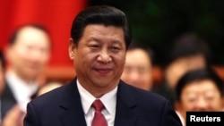 Tân Chủ tịch Trung Quốc Tập Cận Bình.