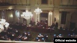 Засідання законодавчого органу Каліфорнії