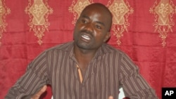 José Katchine, secretário provincial do Partido Popular em Benguela