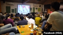Event held by Ayo Vote! brought young Indonesians together to watch the presidential debates