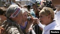 Predsjednički kandidat, bivša ukrajinska premijerka Yulia Tymoshenko