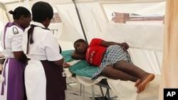 1月31日津巴布韋一名婦女疑似傷寒住院