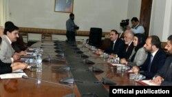 افغان وفد کی پاکستان کے قومی سلامتی کے مشیر سے ملاقات