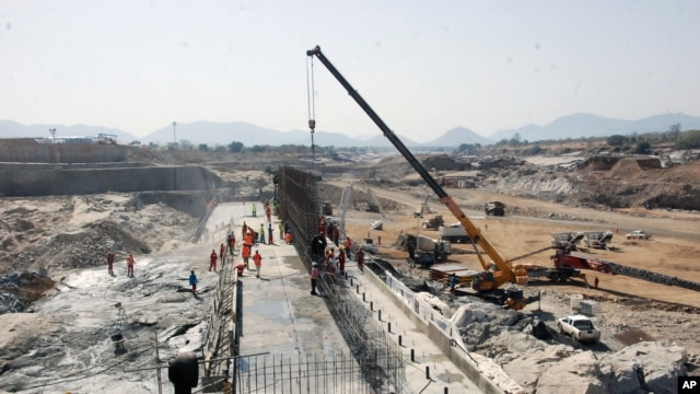 Ethiopia started building the Grand Ethiopia Renaissance Dam two years ago. The hydroelectric power project will use the waters of Ethiopia's  Abai River, which is the primary source of water for Sudan and Egypt.