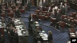 美國國會參議院議事廳(資料圖片)