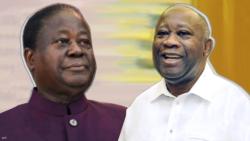 Retrouvailles entre Henri Konan Bédié et Laurent Gbagbo à Bruxelles