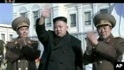 Pemimpin Korea Utara Kim Jong Un (foto: Dok) Dalam beberapa hari terakhir ini Korea Utara melancarkan lagi perang kata-kata.