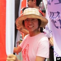 台湾劳工阵线发言人廖蕙芳