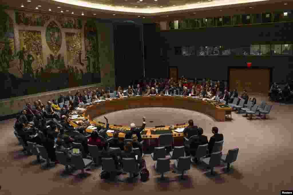 سلامتی کونسل میں امریکی سفیر سمانتھا پاور نے قرارداد کی ناکامی کو ''ایک رنجیدہ اور اہم لمحہ'' قرار دیا