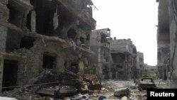 Ruševine u Homsu