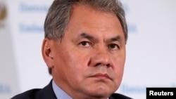 俄罗斯国防部长绍伊古(资料照片)
