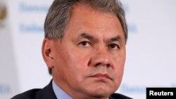 俄羅斯國防部長紹伊古(資料照片)