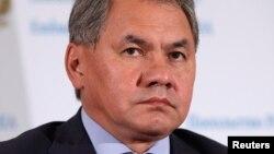 세르게이 쇼이구 러시아 국방장관 (자료사진)