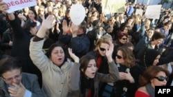 Phụ nữ Tunisia đã sát cánh với nam giới trong các cuộc biểu tình