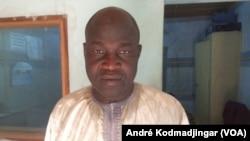 Abba Daoud Nandjédé à N'Djamena, le 3 juillet 2019. (VOA/André Kodmadjingar)