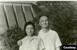 李锐和女儿李南央摄于1978年