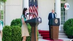 Así es el distanciamiento social en la Casa Blanca