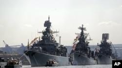 俄罗斯海军(资料照片)