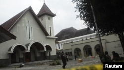 Kelompok Islam garis keras telah berulangkali menyerang rumah ibadah agama lain, termasuk di Temanggung, tahun lalu. (Foto: Dok)