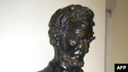 Бюст Линкольна - Национальный исторический памятник резиденция Сент-Годенс