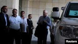 聯合國的一組檢查人員8月18日抵達大馬士革