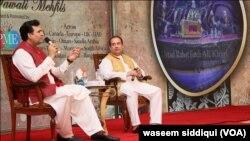 راحت فتح علی خان اور پڑوڈیوسر سلمان احمد