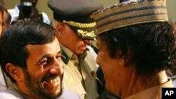 لیبیا میں فوجی مداخلت امریکہ کو مہنگی پڑے گی: صدر احمدی نژاد