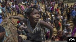 Rohingya Camp in Cox's Bazar, Bangladesh