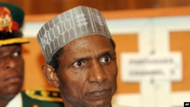 Nigerian President Uamru Yar'Adua (file photo)